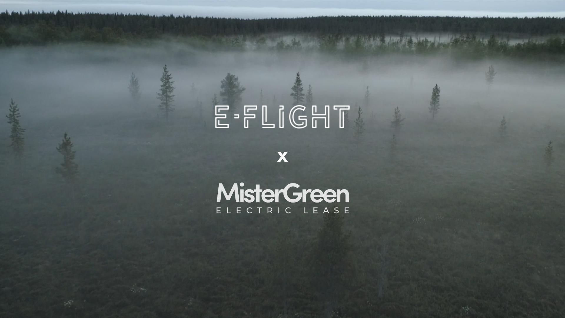 E flight MisterGreen